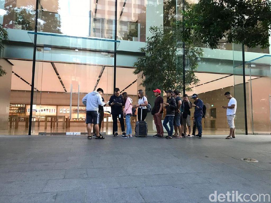 Resmi Dijual di Singapura, iPhone XR Kok Sepi Antrean?