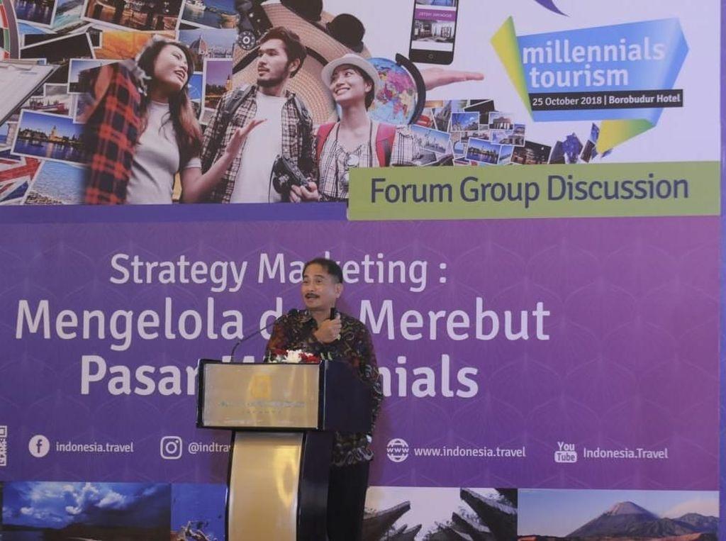 Kemenpar Siapkan Strategi Jaring Wisatawan Milenial