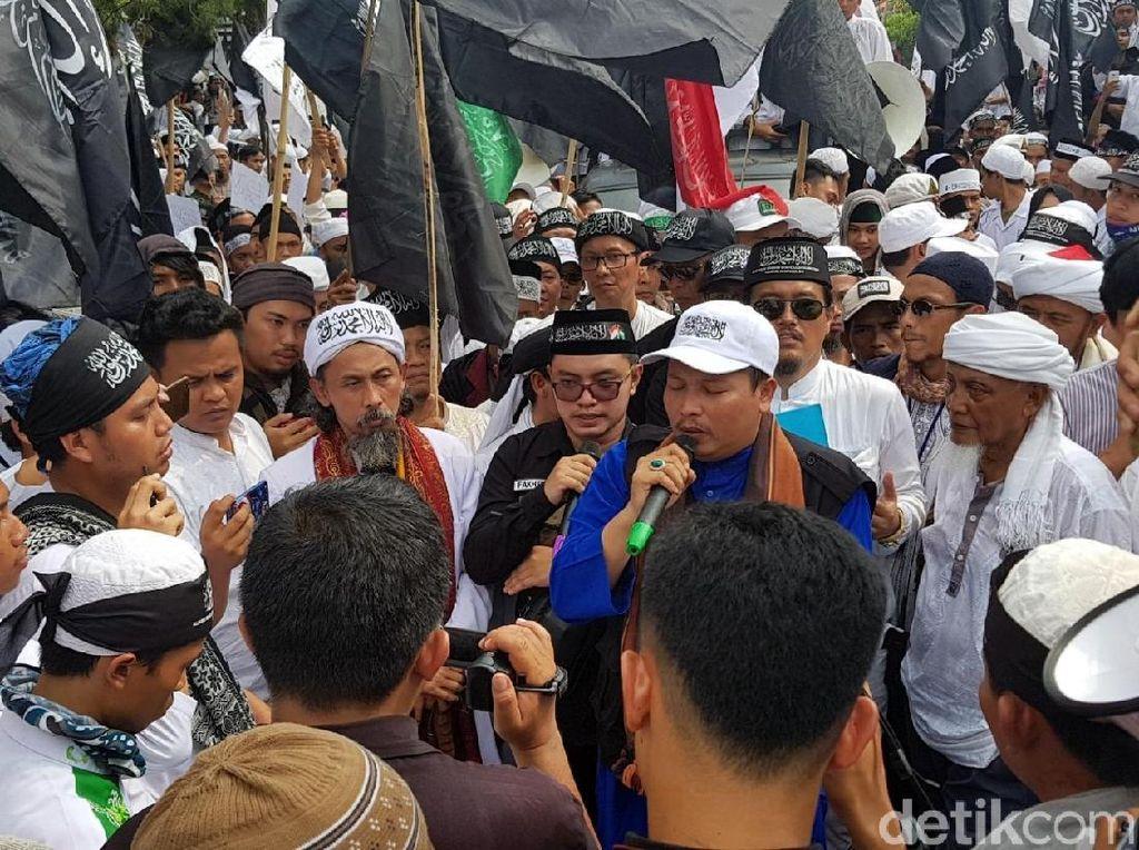 Ini 8 Tuntutan Massa Aksi Bela Tauhid di Sukabumi