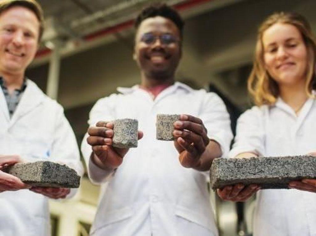 Ketika Urine Manusia Dimanfaatkan Jadi Batu Bata untuk Bangunan
