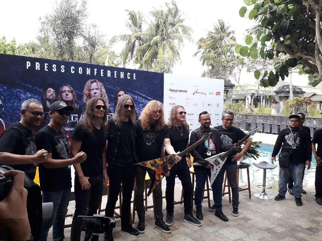 Ini Alasan Promotor Hadirkan Megadeth di JogjaROCKarta 2018