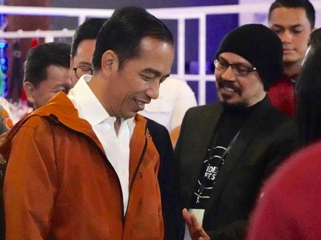 Foto: Jokowi dan Jaket-jaket yang Jadi Sorotan