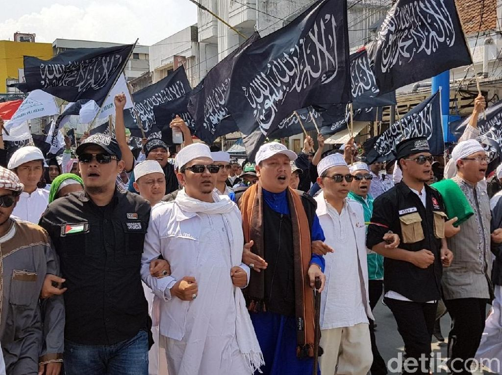 Ada Aksi Bela Tauhid di Sukabumi, Arus Lalu Lintas Dialihkan