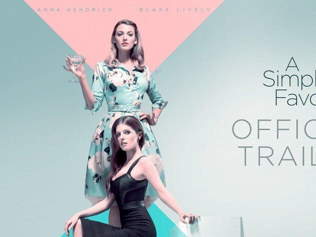 Sinopsis A Simple Favor, Tayang Perdana di Bioskop Trans TV
