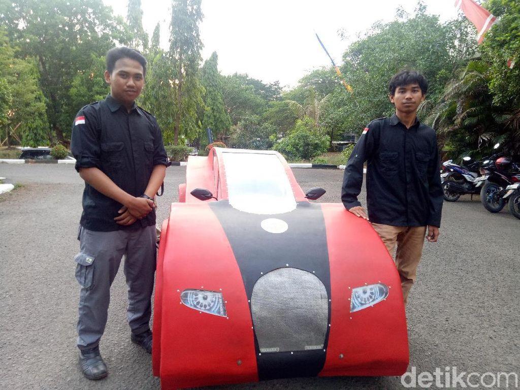 Mahasiswa Makassar Buat Mobil Irit, Tembus 100 Kilometer/liter