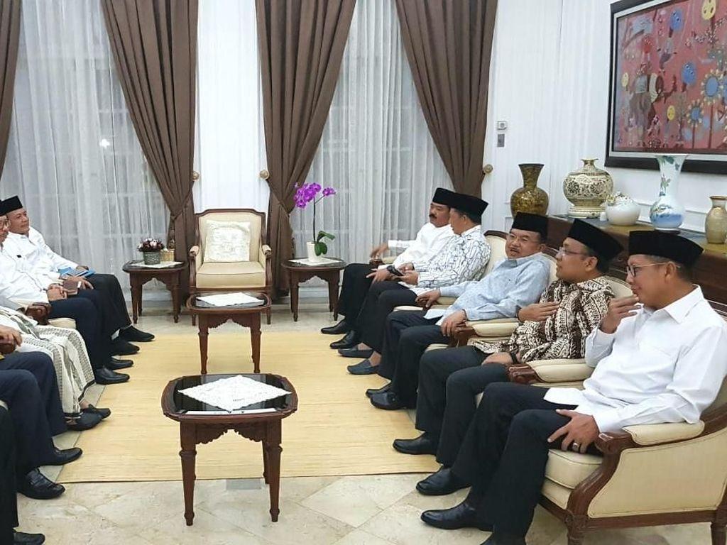 Kapolri hingga Maruf Amin Hadiri Rapat Ormas Islam di Kediaman JK