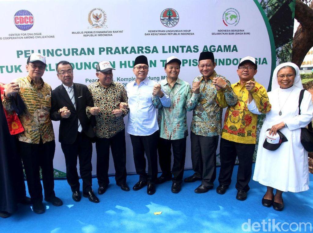 MPR Gandeng Pemuka Agama untuk Lindungi Hutan Tropis
