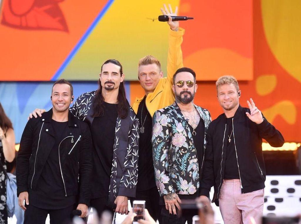 Penyelenggara Janjikan Panggung Megah untuk Backstreet Boys
