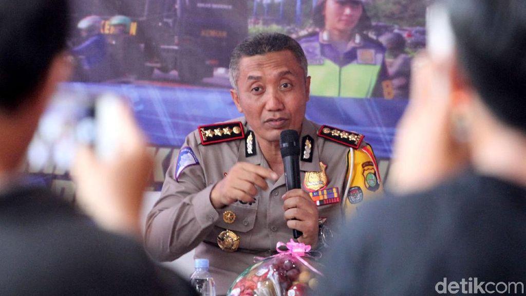 Diskusi Sistem Tilang E-TLE di Polda Metro Jaya