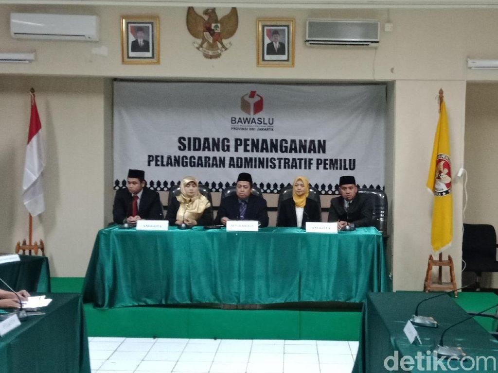 Videotron Langgar Aturan, Jokowi-Maruf Tidak Ditegur Bawaslu DKI