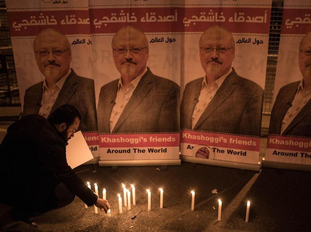 Putra Sulung Jamal Khashoggi: Peradilan Hari Ini Adil Bagi Kami