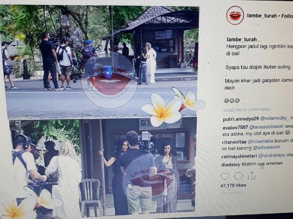 Terciduk di Bali, Keluarga Kardashian Konon Syuting KUWTK