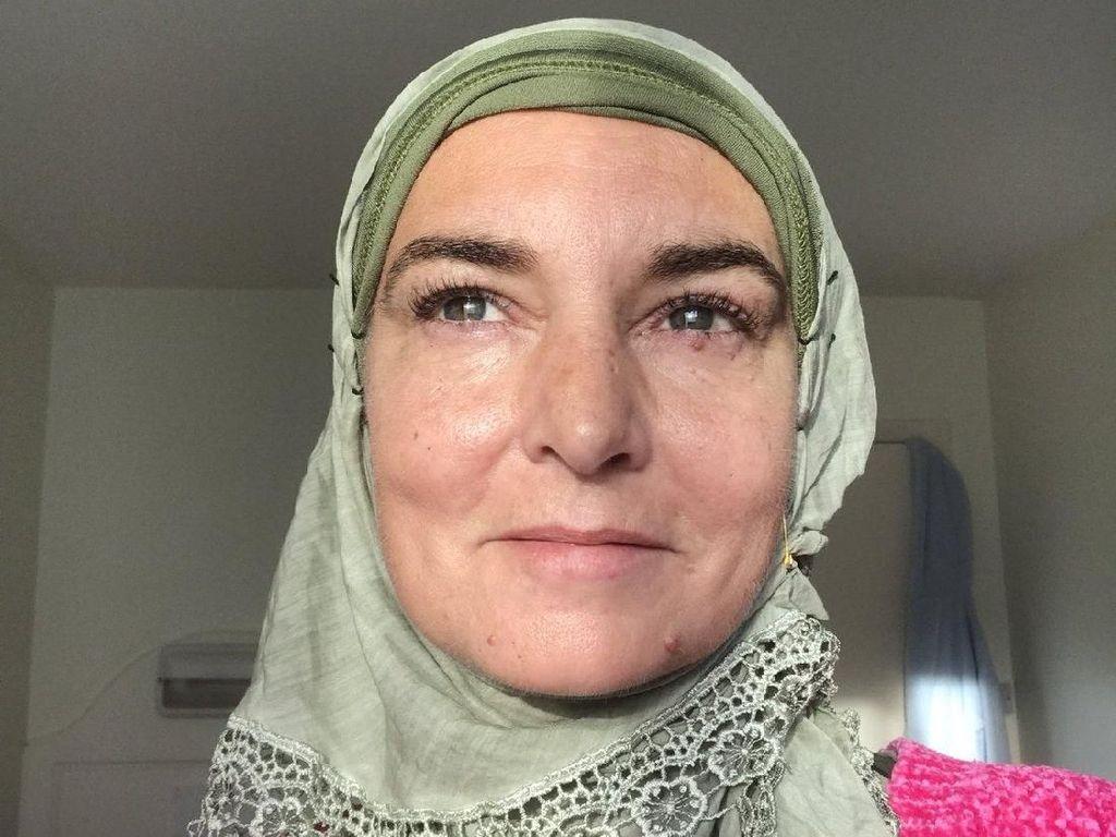 Penyanyi Sinead OConnor Masuk Islam, Gaya Hijabnya Bikin Pangling