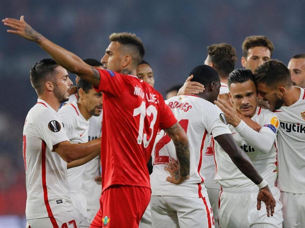 Hasil Liga Europa: Sevilla Bantai Akhisarspor 6-0