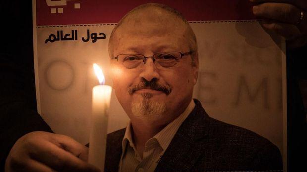 Jamal Khashoggi, wartawan Arab Saudi yang dibunuh pada 2018 lalu.