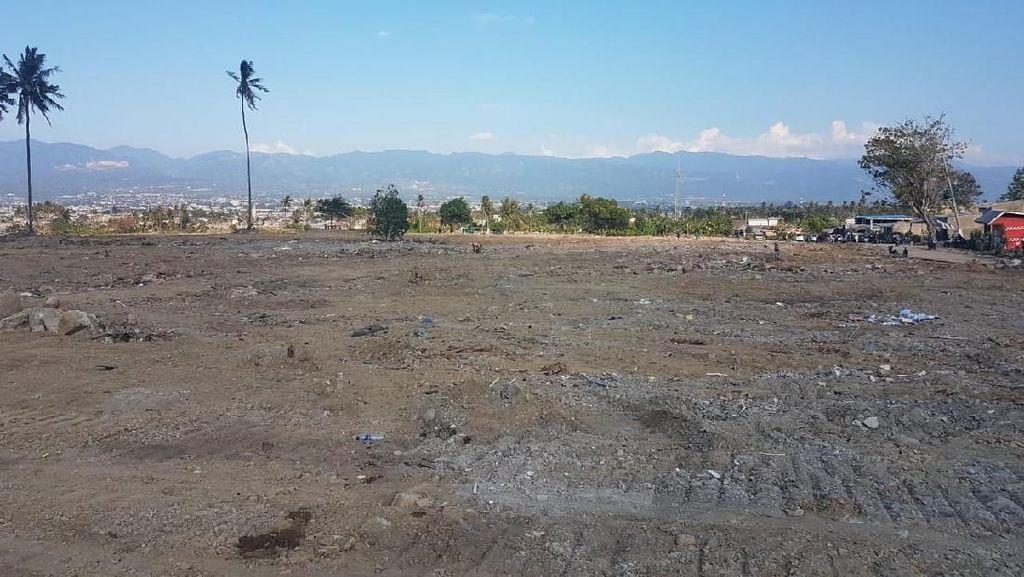 Daerah Terdampak Likuifaksi di Palu Diratakan