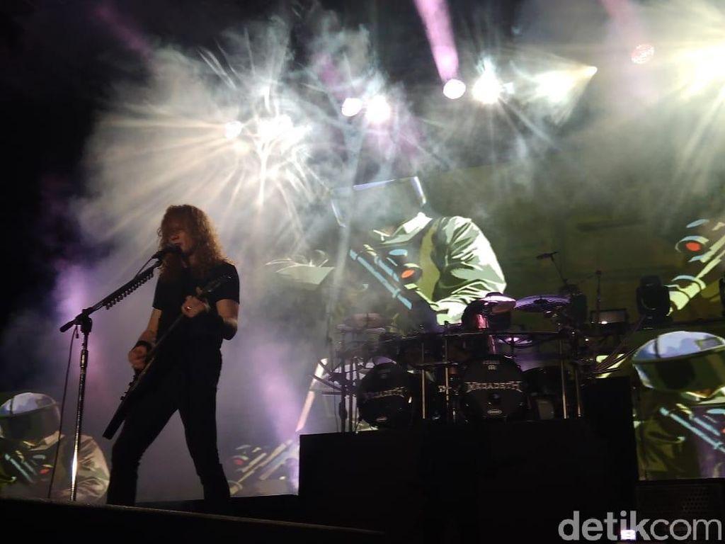 Megadeth hingga Trivium Tampil di Festival Musik Virtual