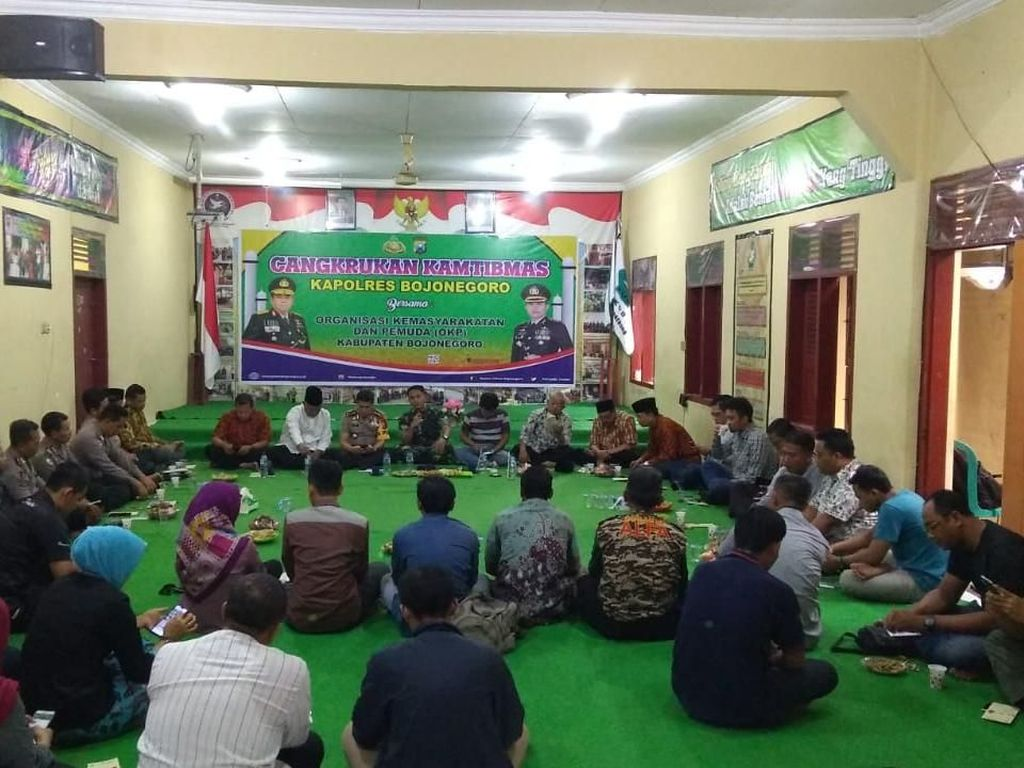 Diskusi Bareng MUI, Polisi-TNI Bojonegoro: Jangan Terpancing Isu SARA