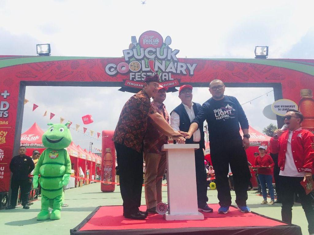 Cicipi Ragam Kuliner Kekinian di Pucuk Coolinary Festival Bandung