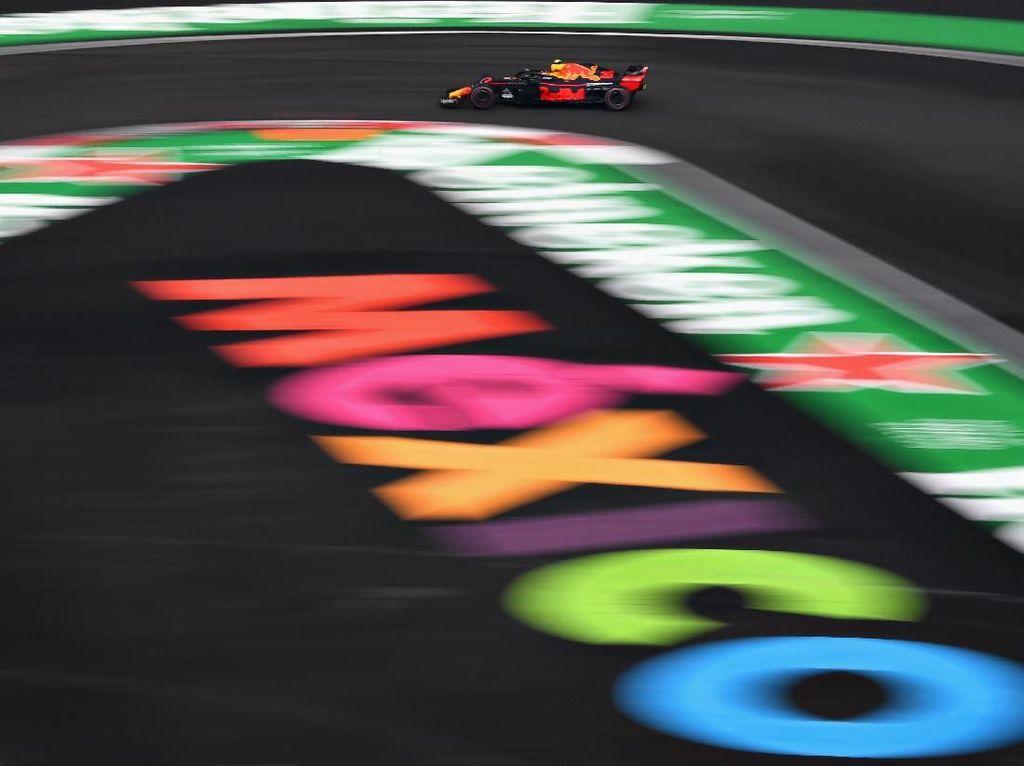 Red Bull Masih Terdepan di GP Meksiko: Verstappen Kuasai Free Practice III