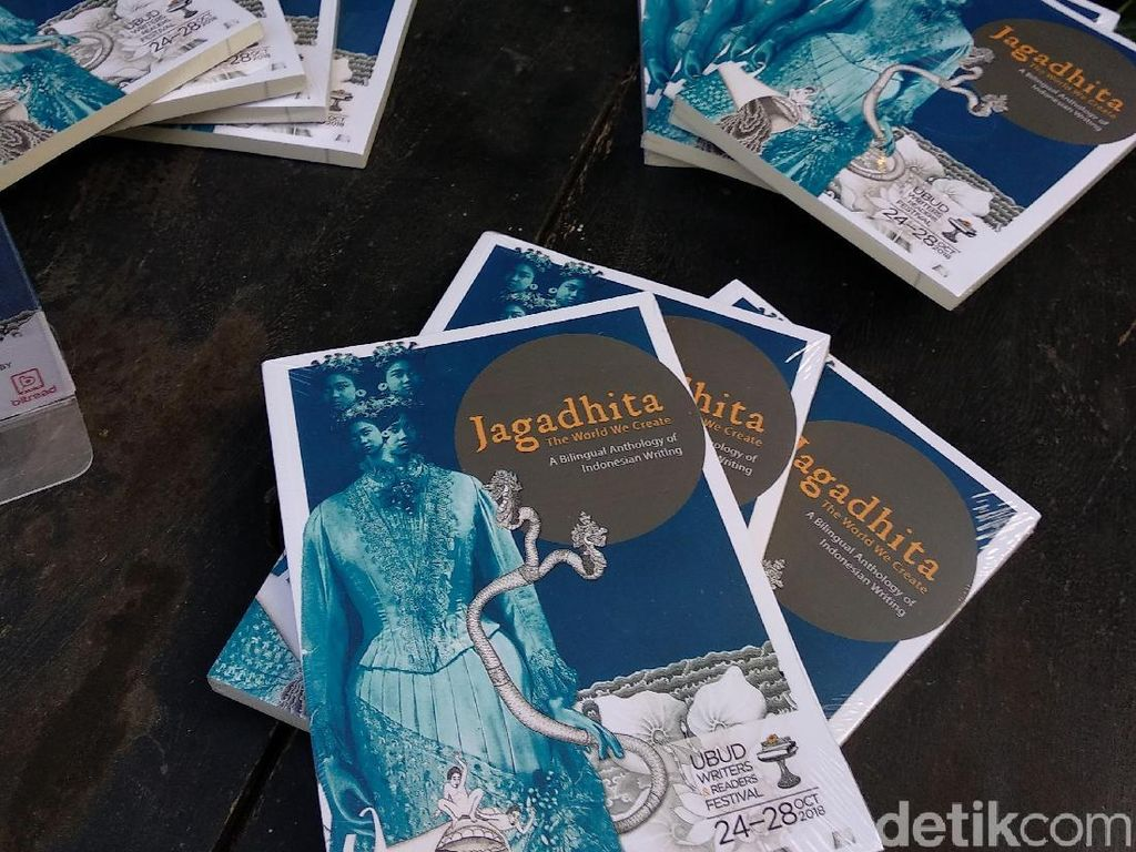 Ubud Writers and Readers Festival 2018 Luncurkan Buku Antologi Jagaditha