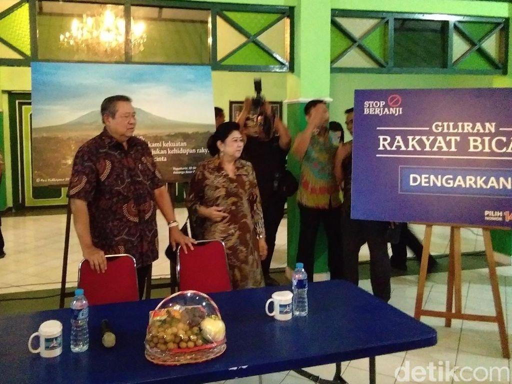 SBY Dialog dengan Warga di Ndalem Benawan Yogya