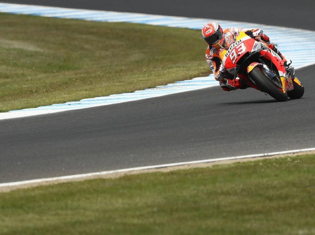 Video Marc Marquez Raih Pole Position di MotoGP Malaysia