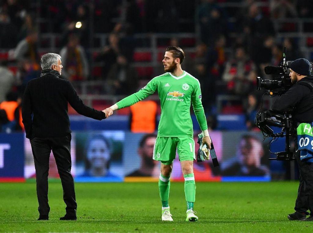 Mourinho Ragu De Gea Akan Perpanjang Kontrak di MU