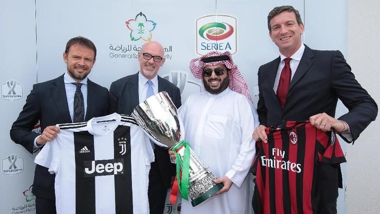 Resmi, Piala Super Italia Akan Digelar pada 16 Januari