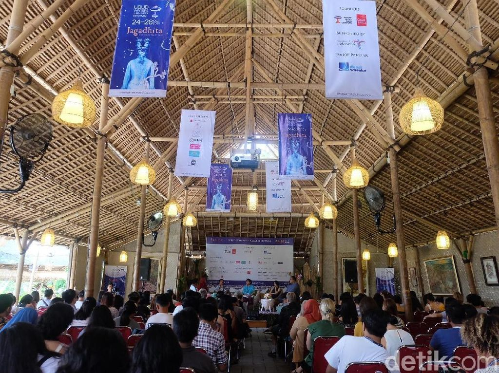 Ubud Writers and Readers Festival 2019 Bakal Dihelat 23-27 Oktober