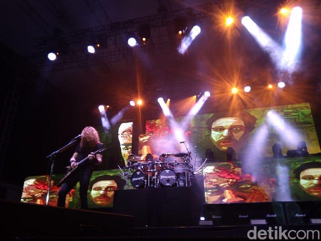 JogjaROCKarta 2018 Jadi Penutup Tour Dystopia Megadeth