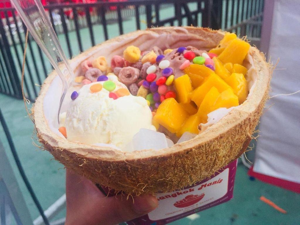 Es Krim Ini Diburu Pengunjung Pucuk Coolinary Festival Bandung