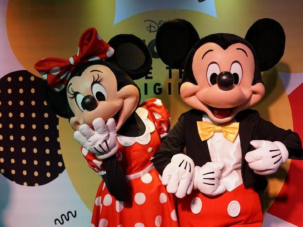 Jelang Ulang Tahun ke-90, Mickey Mouse Ada di Jakarta Nih
