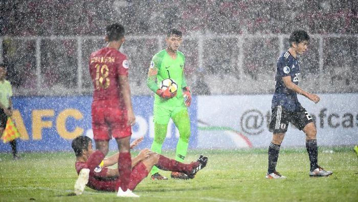 Indonesia kalah 0-2 dari Jepang di Perempatfinal Piala Asia U-19 2018. (Foto: AFC)