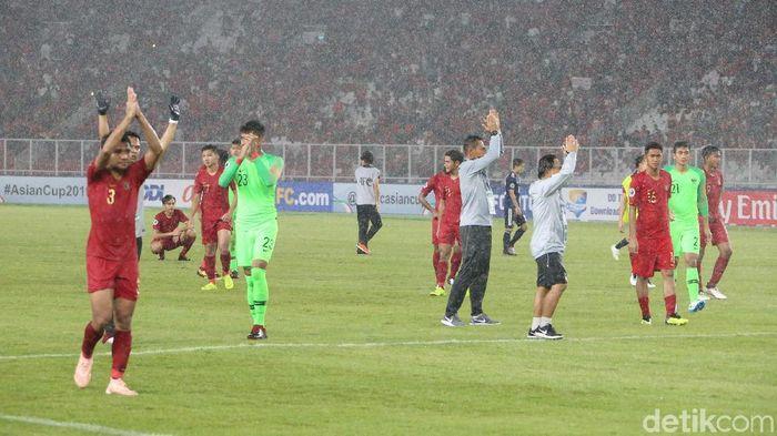 Jepang menyingkirkan Indonesia di perempatfinal Piala Asia U-19. (Foto: Ari Saputra)