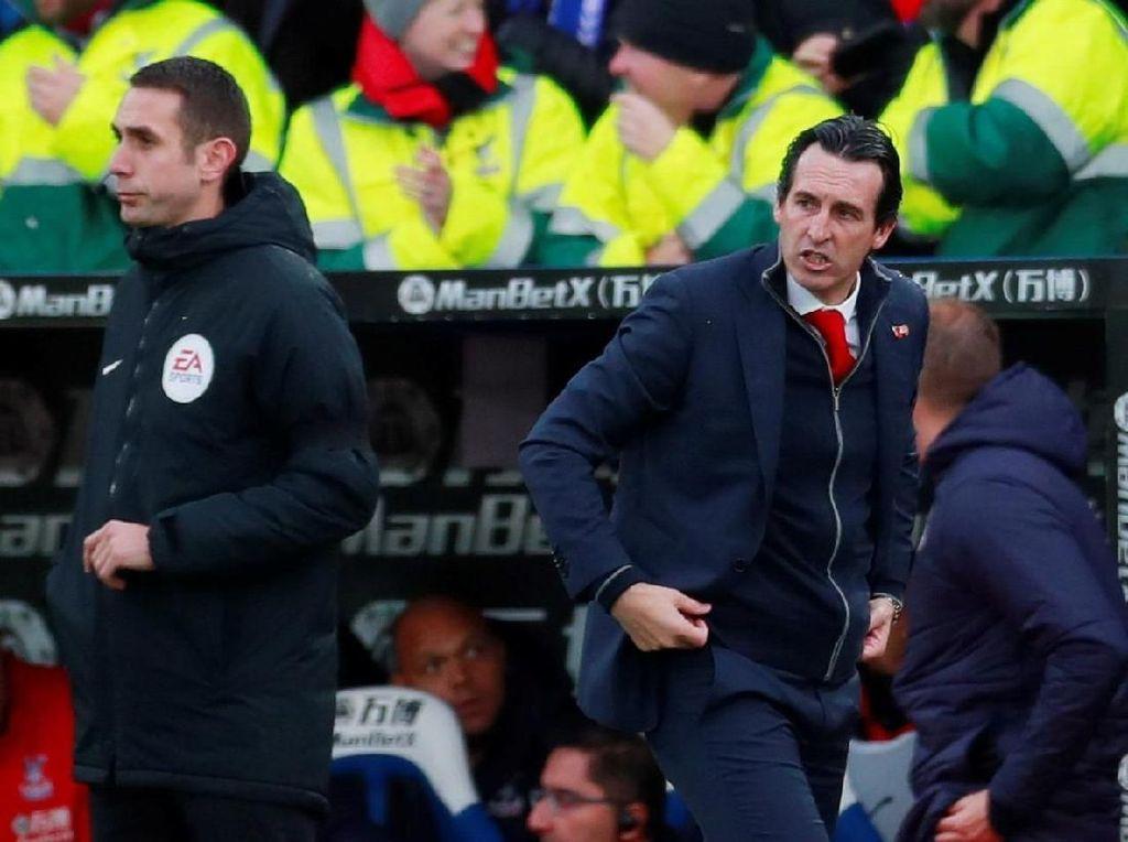 Emery Kecewa Arsenal Seri, tapi...