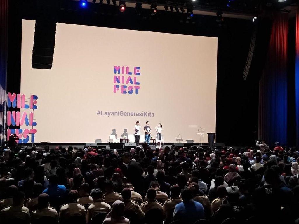 90 Tahun Sumpah Pemuda, Anak-anak Muda Hadiri Milenial Fest