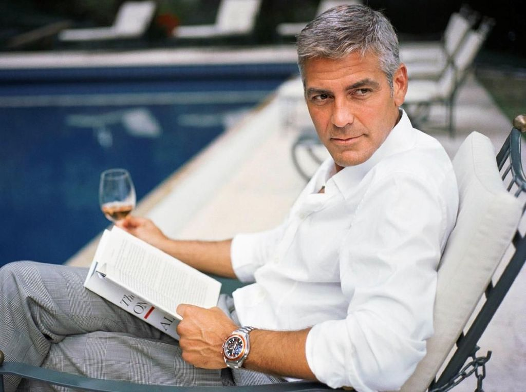George Clooney Dipuji Batman yang Sebenarnya