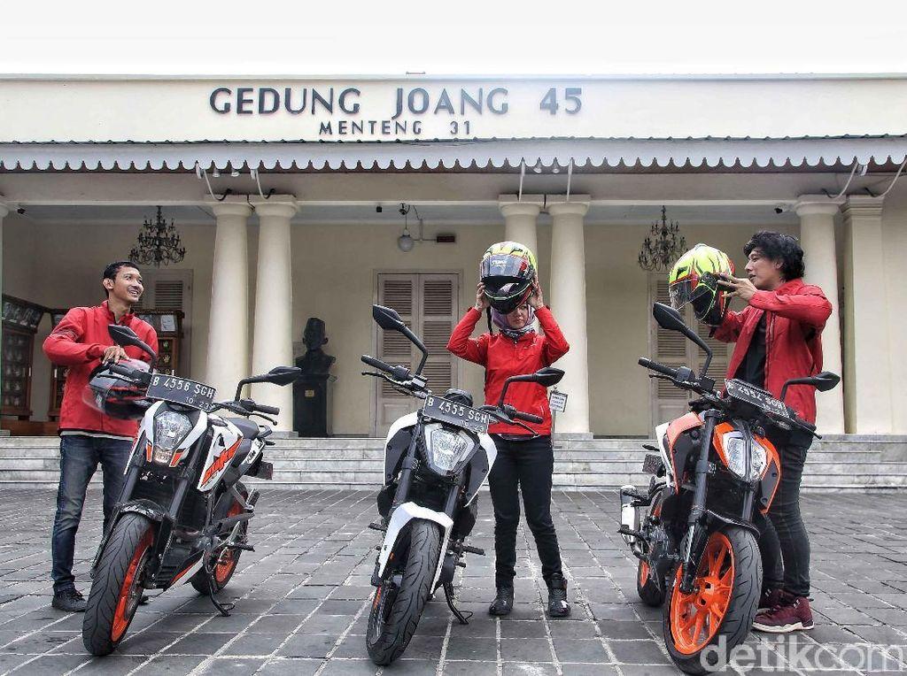 Memaknai Sumpah Pemuda dengan Touring Jakarta-Surabaya