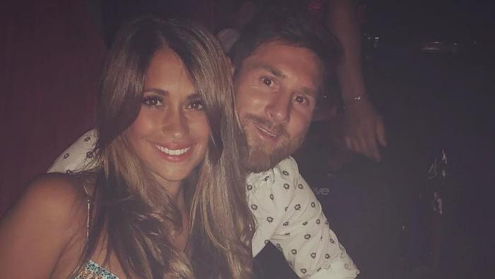 Antonella Roccuzzo dan Lionel Messi
