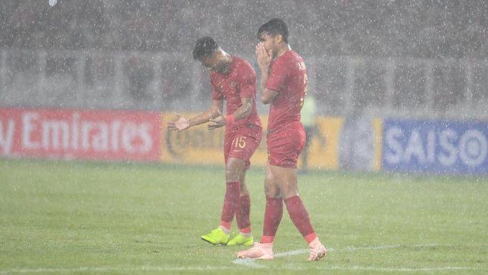 Timnas Indonesia U-19 kalah 0-2 dari Jepang di perempatfinal Piala Asia U-19. (Foto: Akbar Nugroho Gumay/ANTARA FOTO)