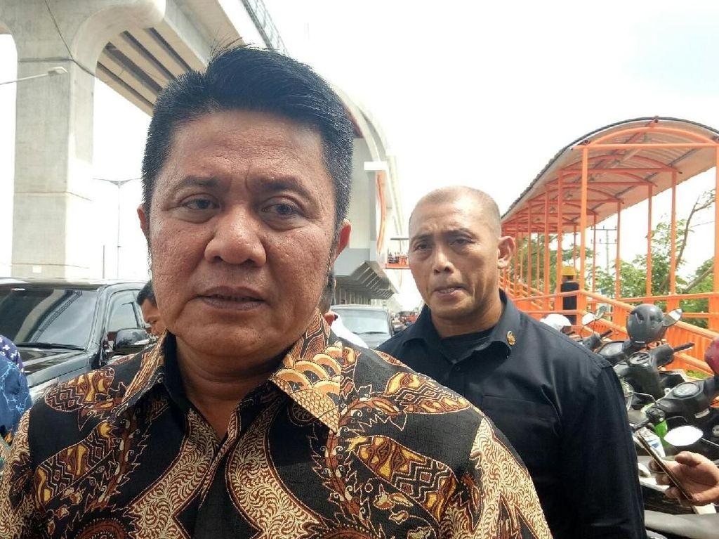Gubernur Sumsel Heran Plafon LRT Kalah Lawan Angin