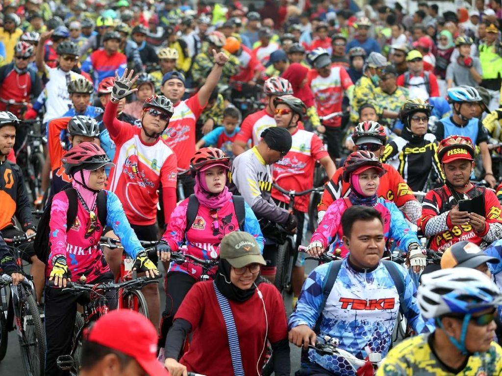 BPJS Ketenagakerjaan Lindungi Atlet Indonesia di Tour De Linggarjati