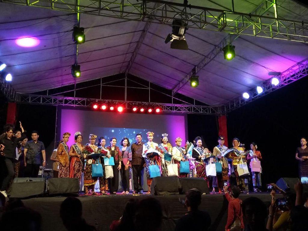 Melihat Meriahnya Pemilihan Duta Tuna Rungu Denpasar