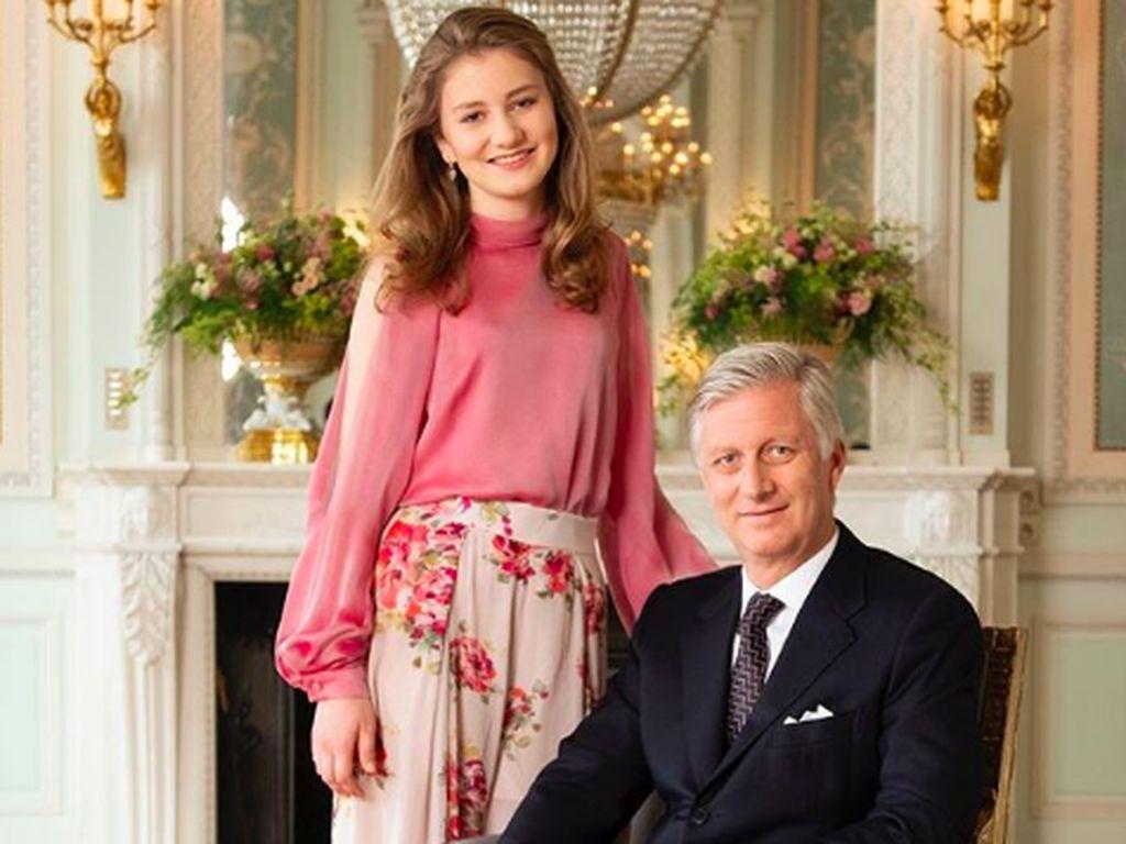 Cantiknya Putri Elisabeth, Calon Ratu Belgia yang Baru Berusia 17 Tahun