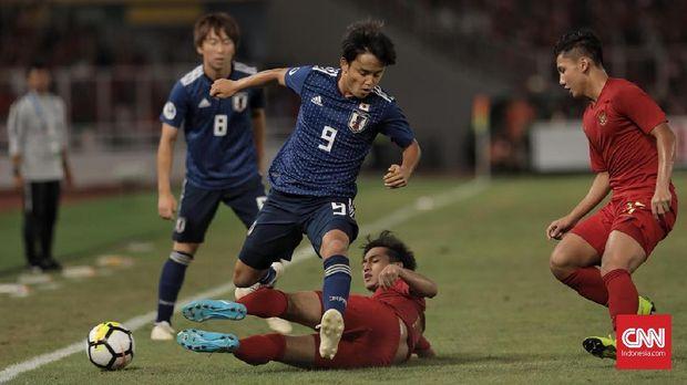 Jepang lolos ke semifinal Piala Asia U-19 2018.
