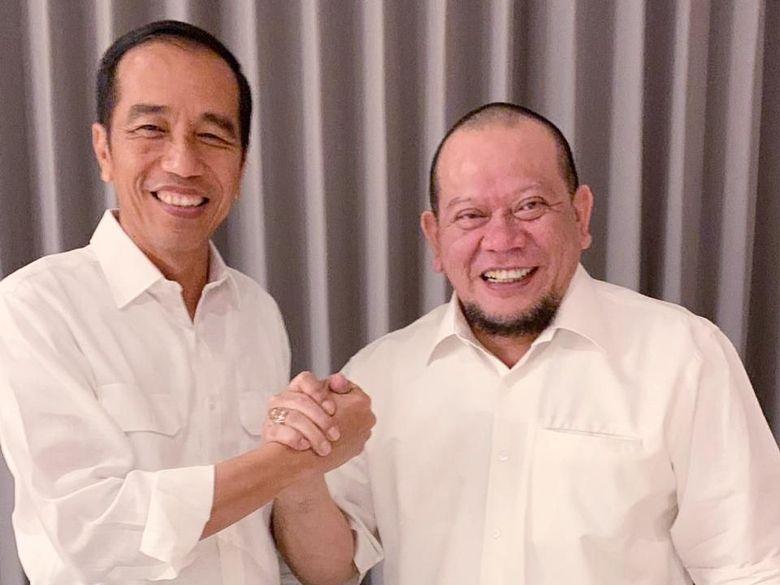 Bertemu Jokowi, La Nyalla Minta Maaf Pernah Sebarkan Isu PKI
