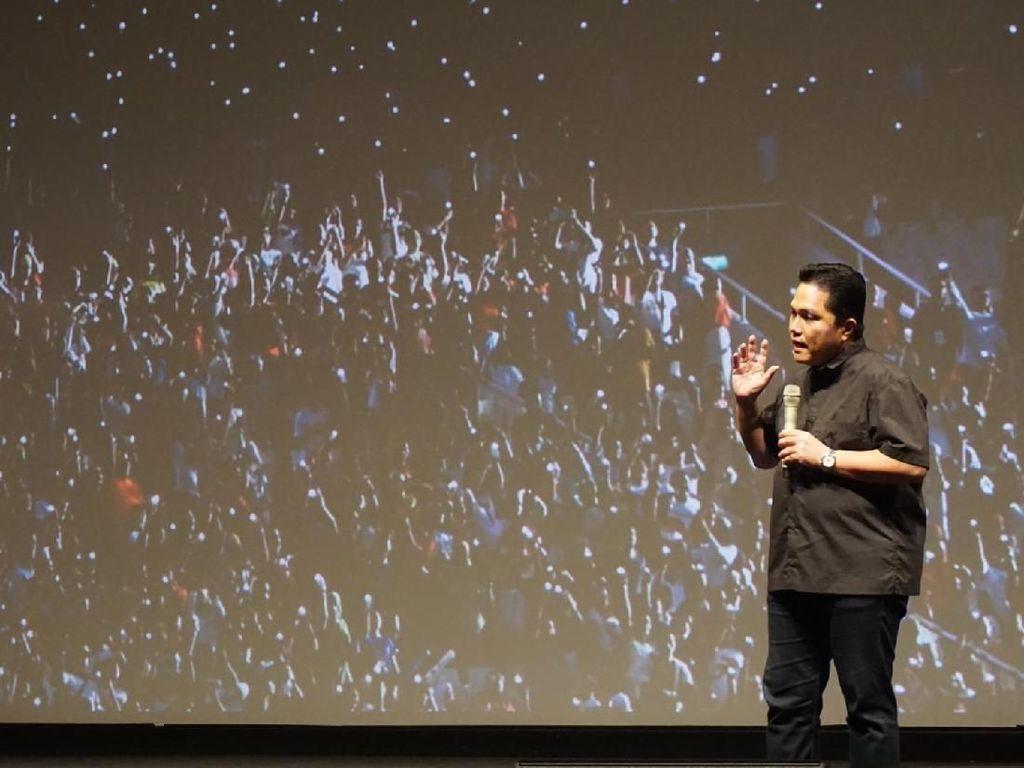 Erick Thohir Sumbang Rp 200 Juta ke Sulteng, Sandi Tak Sebut Nominal