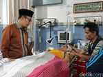 Wali Kota Sukabumi Jenguk Korban Angkot Terguling