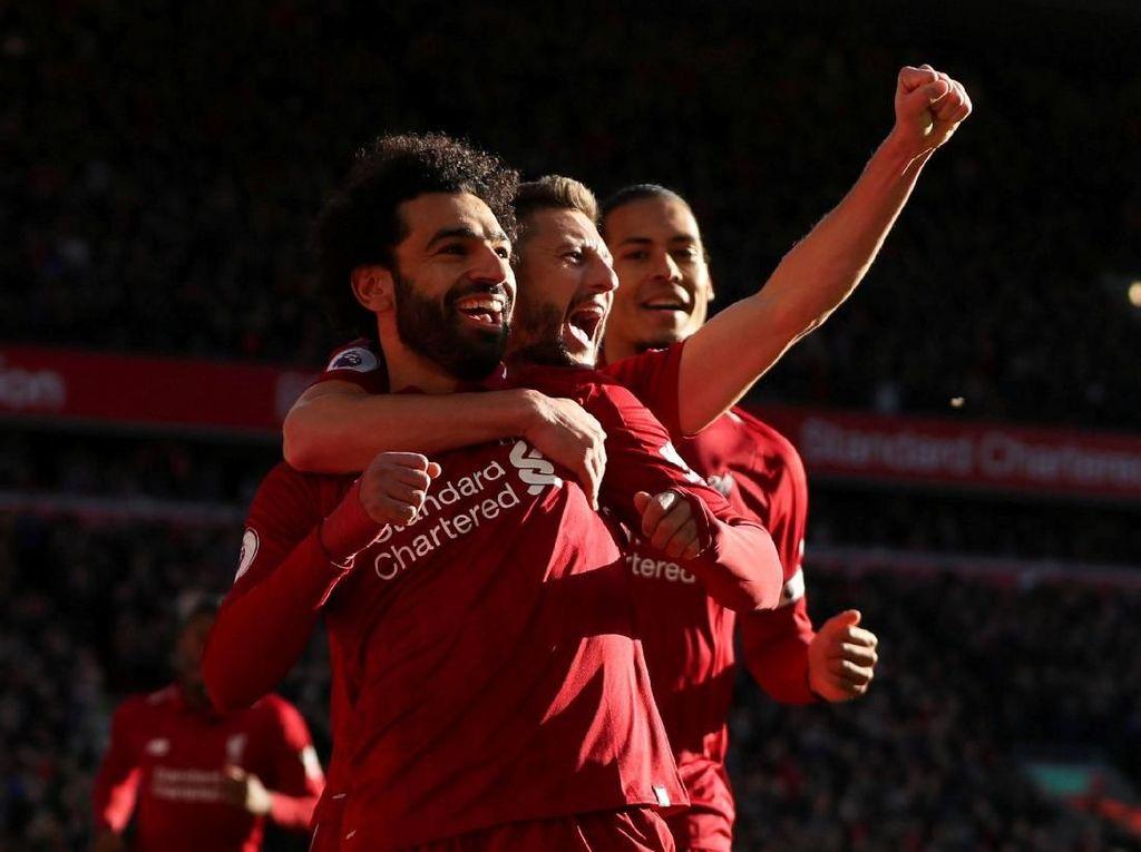 SMS Antar Liverpool ke Puncak Klasemen Liga Inggris